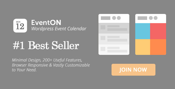 EventOn v2.6.4 - WordPress Event Calendar Plugin Full İndir