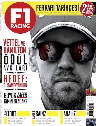F1 Racing Mayıs 2018
