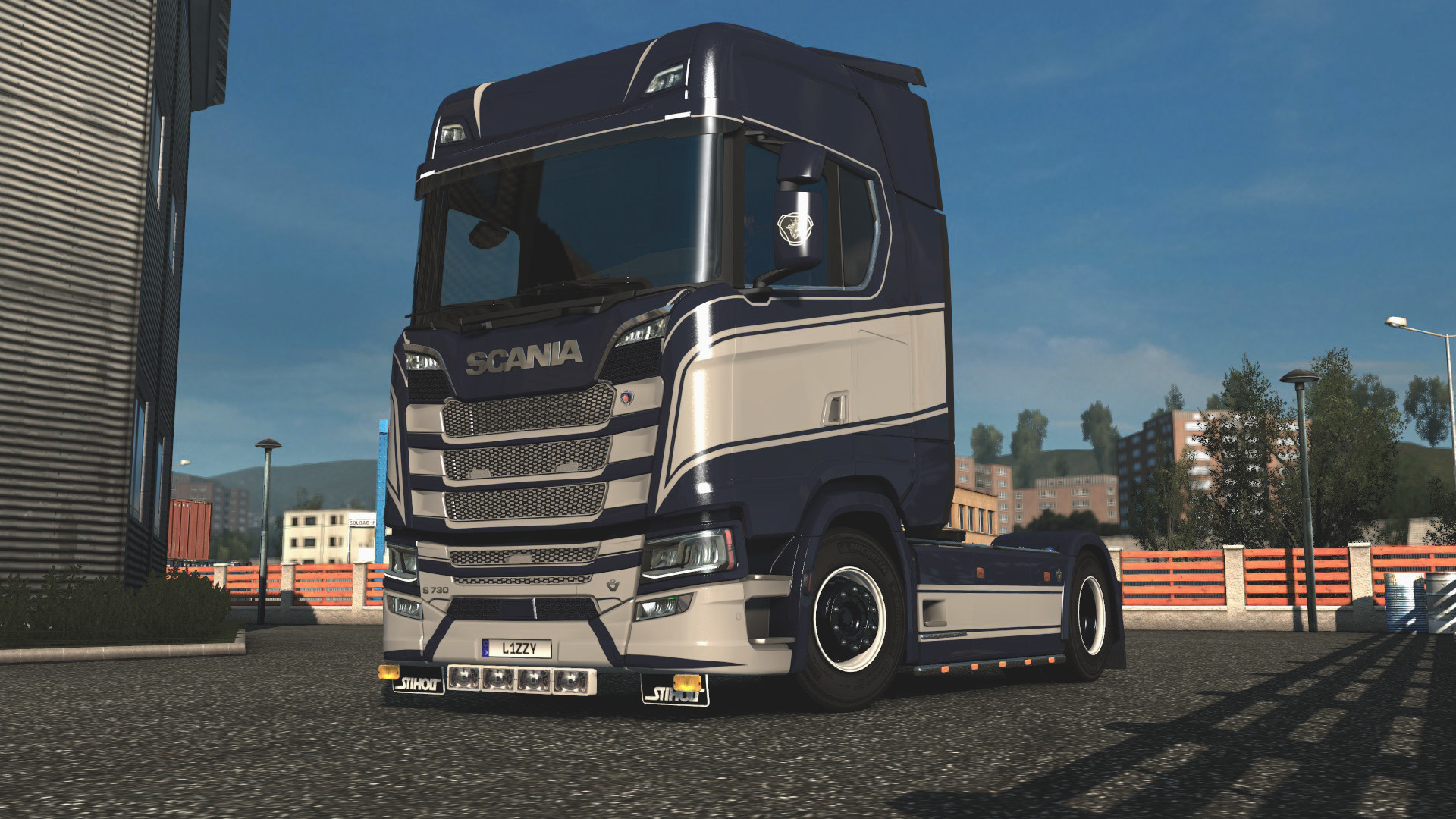 Scania S - Grace Paintjob by l1zzy