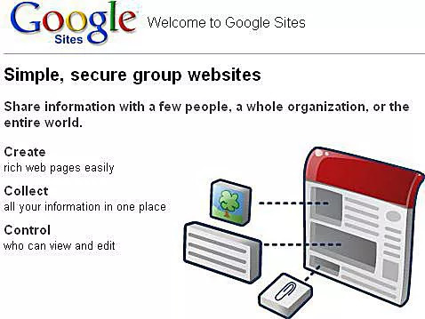 Google Web Sites