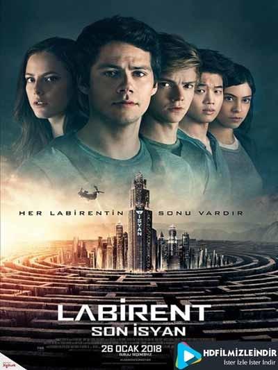 Labirent Son İsyan (2018) Türkçe Dublaj İzle İndir Full HD Tek Parça