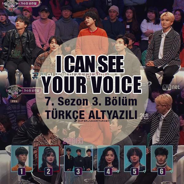 I Can See Your Voice 7. Sezon 3. Bölüm (Super Junior) [Türkçe Altyazılı] JTzuRl