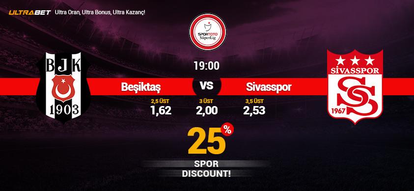Beşiktaş - Sivasspor Canlı Maç İzle