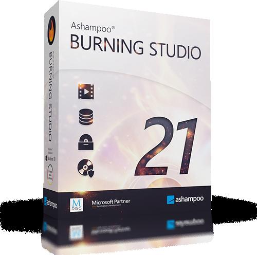 Ashampoo Burning Studio 21.6.0.60 | Katılımsız
