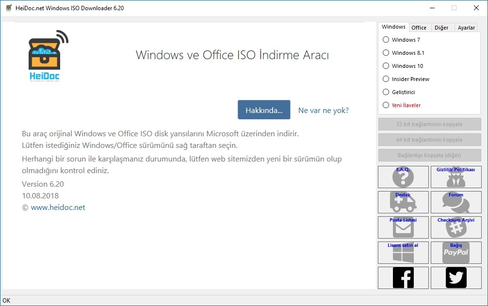 Windows & Office ISO Downloader 8.21 | Portable