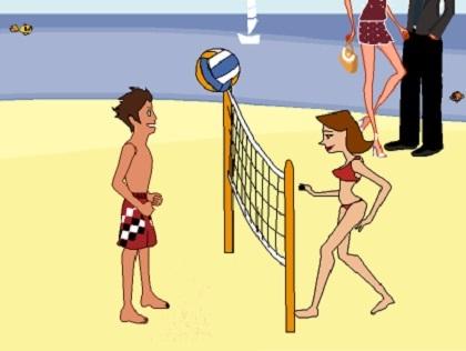 Plaj Voleybolu Oyunu