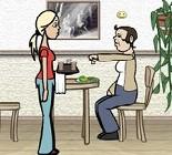 Garson Kız Oyunu