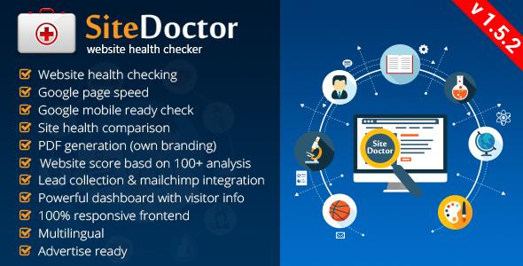 SiteDoctor - Website Sağlığı Kontrol Scripti