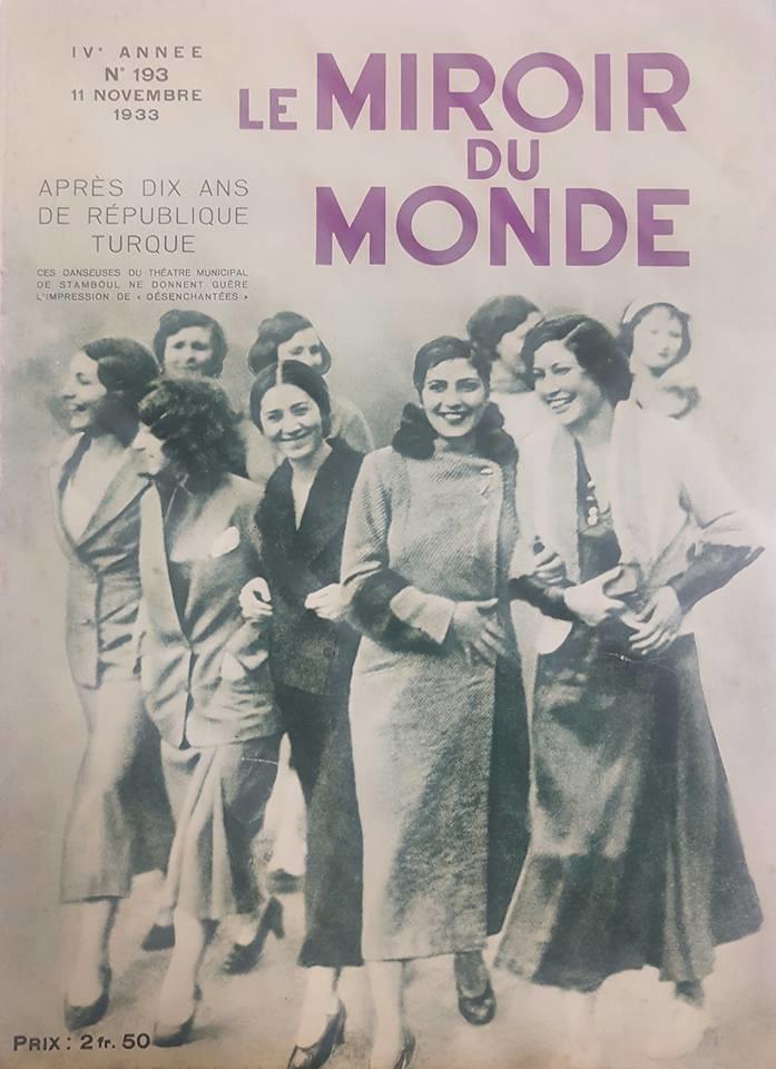 Le miroir du monde 1933 dergi for Miroir du monde