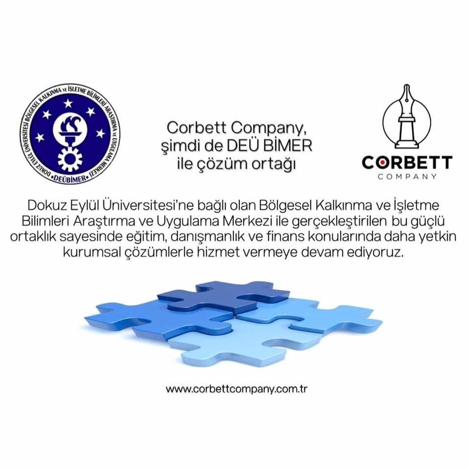 Corbett Company şimdi de DEÜ BİMER ile çözüm ortağı