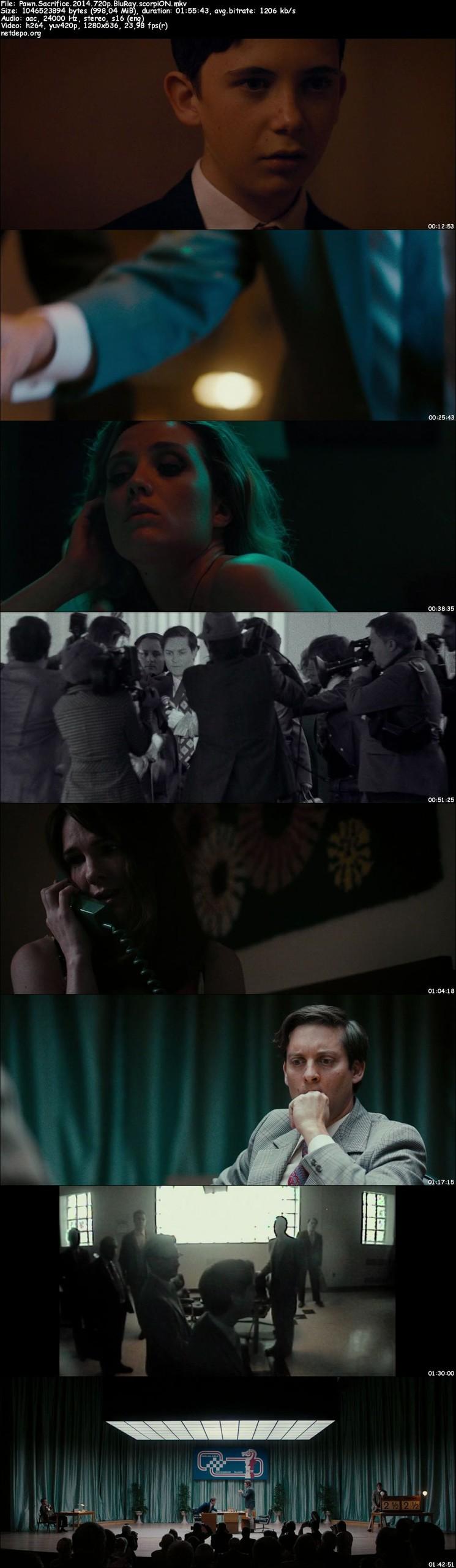 Şah Mat - Pawn Sacrifice (2014) m720p BluRay Türkçe Altyazı indir