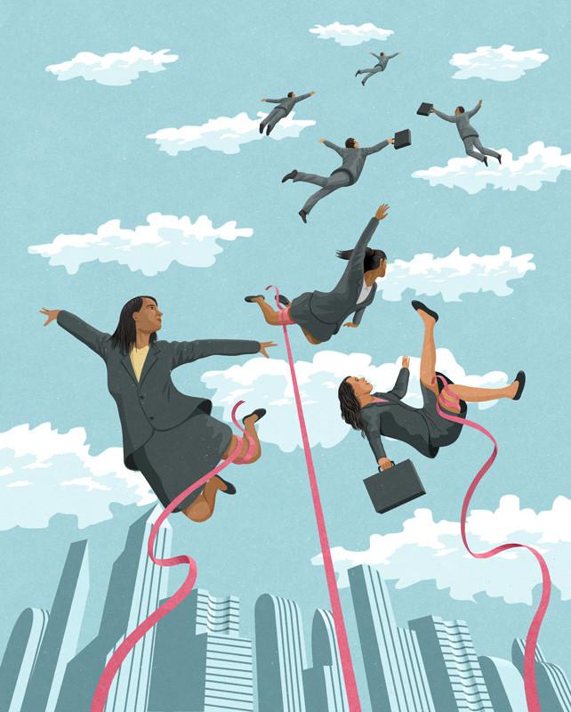 Çizer John Holcroft'ın Modern Toplumu Eleştiren 10 İllüstrasyonu 4. resim