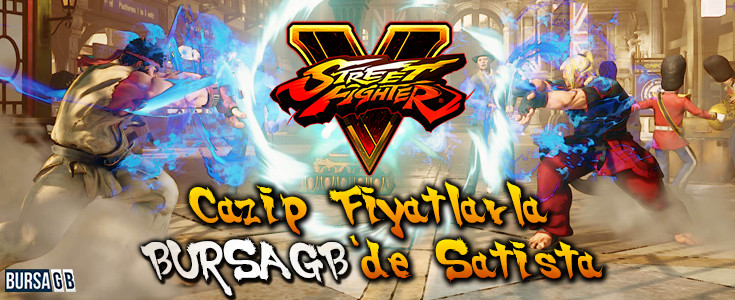 Street Fighter V Cazip Fiyatlarla BursaGB'de Satışta