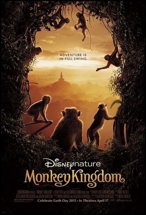 Maymun Krallığı - Monkey Kingdom 2015 ( BRRip XviD ) Türkçe Dublaj - Tek Link