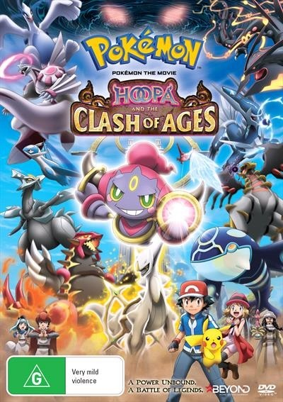 Pokemon the Movie Hoopa and the Clash of Ages 2015 ( DVDRip x264 ) Türkçe Altyazı
