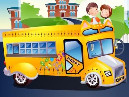 Okul Otobüsü Süsle Oyunu