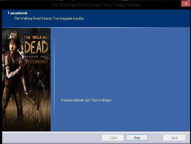 The Walking Dead Episode 2 Türkçe Yama - TechnoGame