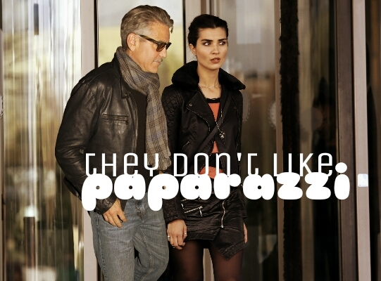George Clooney and Tuba Buyukustun Photoshopped Pictures KDzL4O