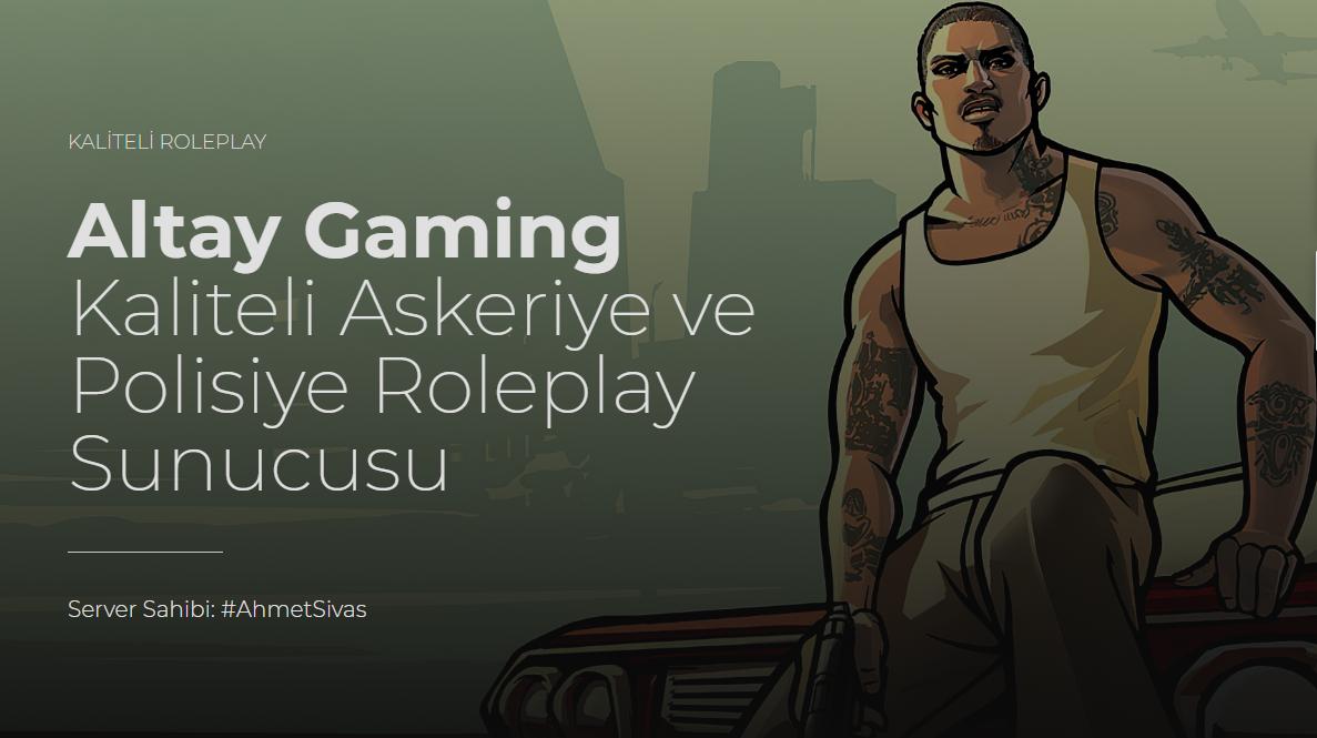Türkiyem Altay Gaming Askeri Polisiye Serveri