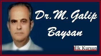 Dr. M. Galip Baysan: ARTIK ASKERLERİ RAHAT BIRAKIN