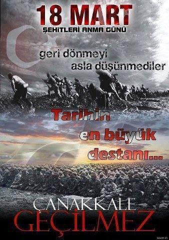 18 Mart Canakkale Sehitlerini Anma Gunu Detail Turkey Detayli