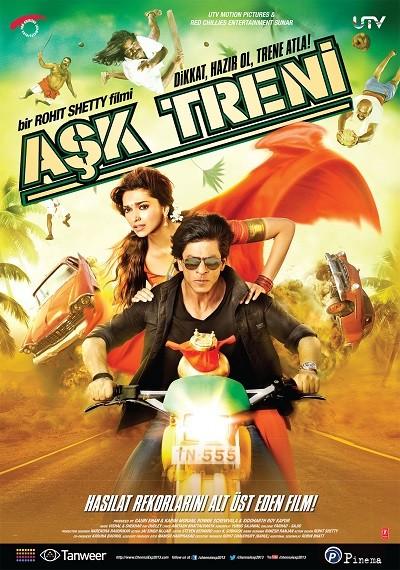 Aşk Treni - Chennai Express 2013 BRRip 720p 1080p Türkçe Dublaj İndir