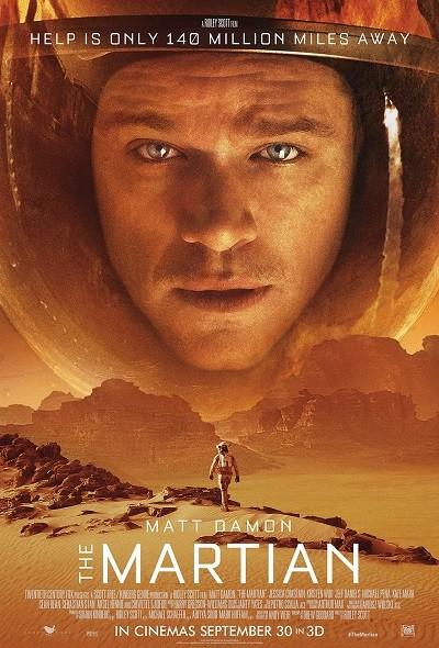 Marslı - The Martian 2015 ( BRRip XviD ) Türkçe Dublaj