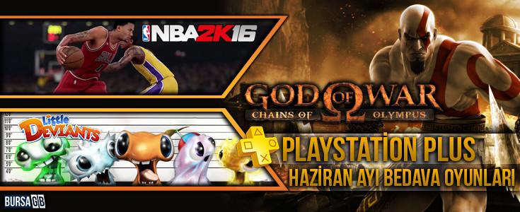 PlayStation Plus Haziran Ayi Ücretsiz Oyunlari Açiklandi