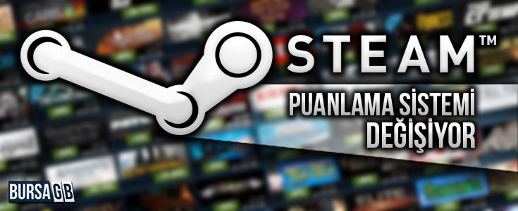 Steam Puanlama Sistemi Degisiyor. Steam Kodu 'nu Al Incele