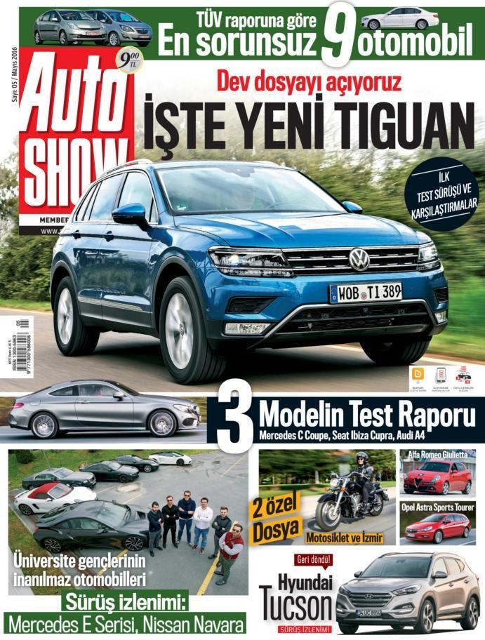 Auto Show Mayıs E-dergi indir Sandalca.com