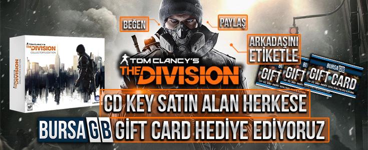 The Division Uplay CD Key Satin Al Gift CARD Kazan