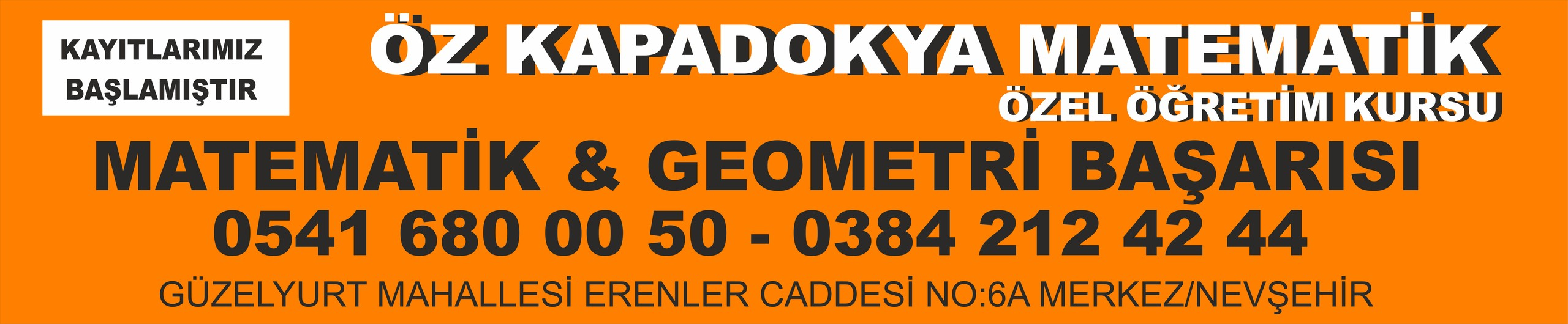 Öz Kapadokya Matematik