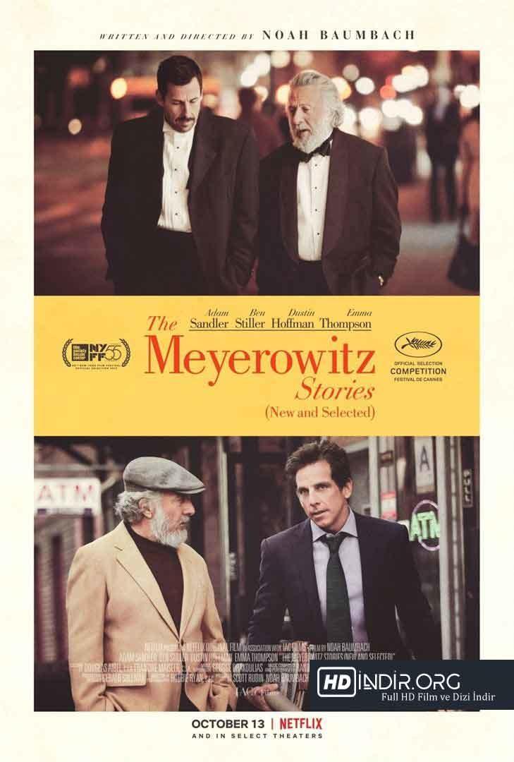 Meyerowitz Hikayeleri Yeni ve Seçilmiş (2017) Türkçe Dublaj HD indir