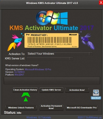 Windows KMS Activator Ultimate 2018 4.0  | Full İndir