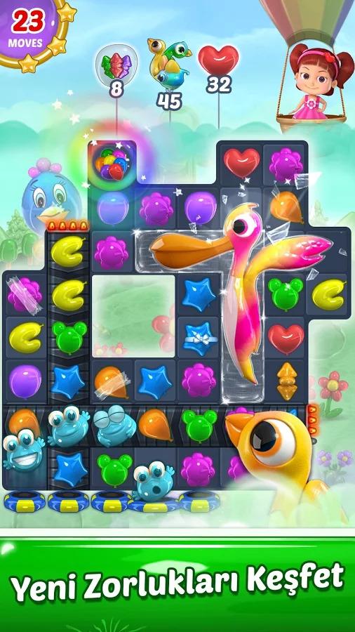 Balloon Paradise - Free Match 3 Apk