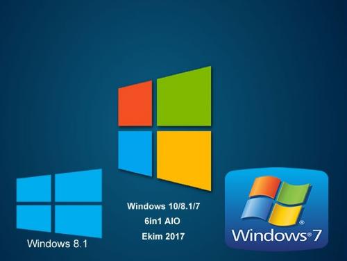 Windows 7-8 1-10 AIO (6in1) November/kasım 2017 - Windows 10