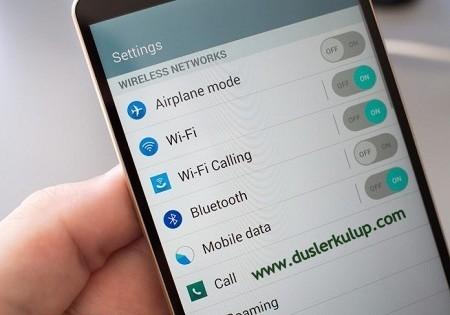 Cep Telefon Kablosuz Ağa Bağlanamama Sorununa Kesin Çözüm