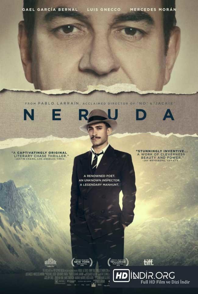 Neruda (2016) Türkçe Dublaj HD  - Film İndir