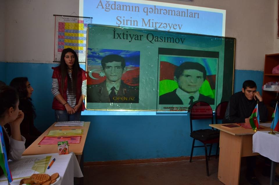 Qarabağ həqiqətləri məktəblərdə təbliğ olunur