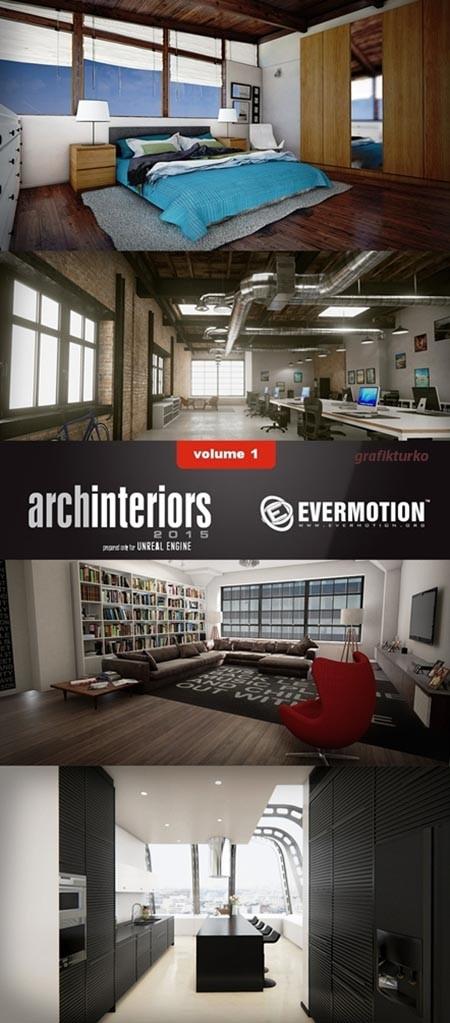 Evermotion Archinteriors for UE vol 1