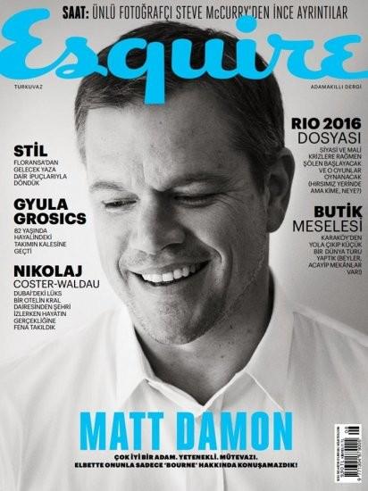 Esquire Ağustos 2016