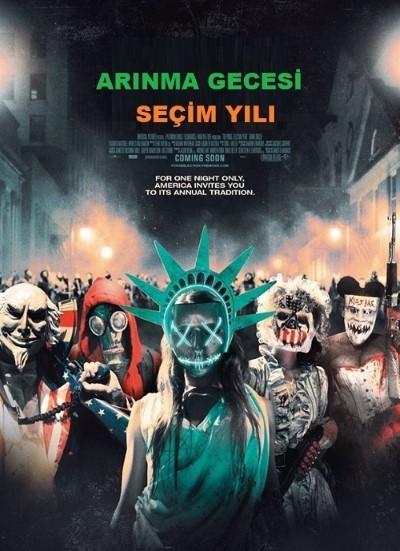 Arınma Gecesi: Seçim Yılı - The Purge: Election Year (2016) türkçe dublaj film indir