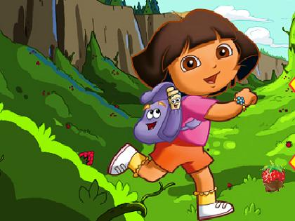 Dora Çilek Topluyor Oyunu