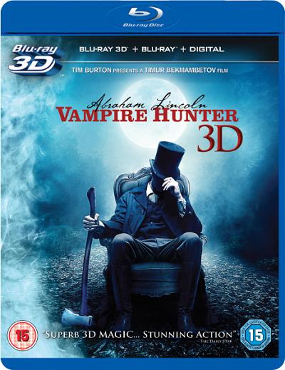 Abraham Lincoln Vampir Avcısı 2012 ( Kota Dostu 3D 1080P ) Türkçe Dublaj Tek Link indir