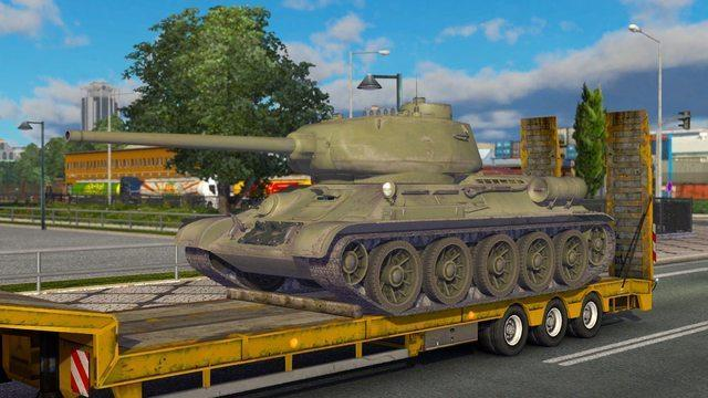 Зимний мод 4 для Euro Truck Simulator 2. Карта Белоруссии + Россия + трафик