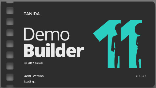 Tanida Demo Builder 11.0.18.0