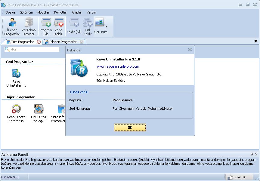 Revo Uninstaller Pro 3.2.0 Final | Katılımsız