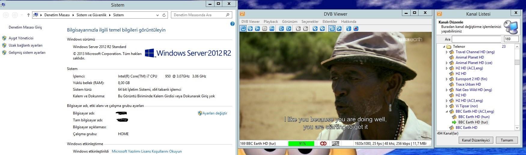Server 2012Dvb Vivxer