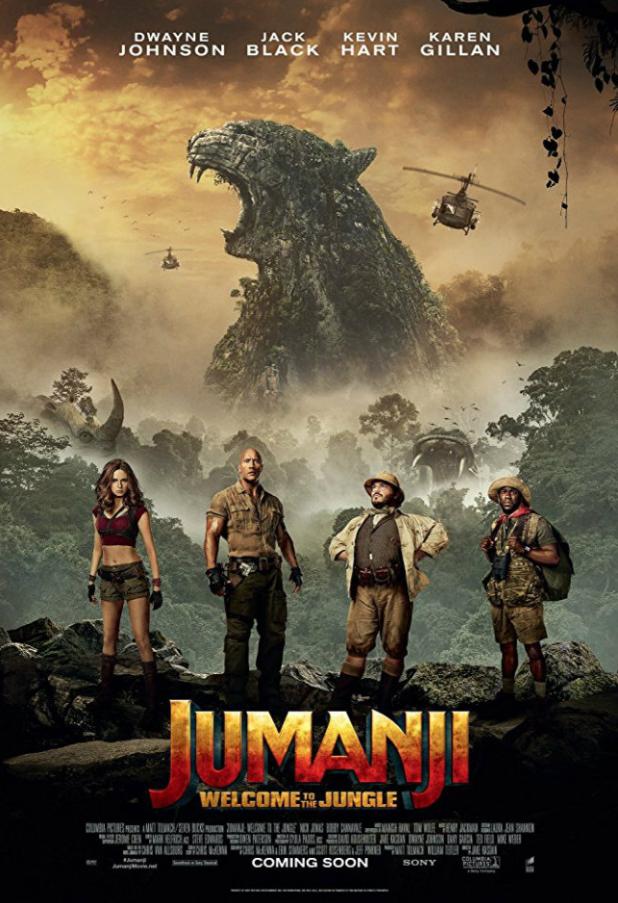 Jumanji: Vahşi Orman | 2017 | DUAL (TR-ENG) | 1080p | BluRay | x264