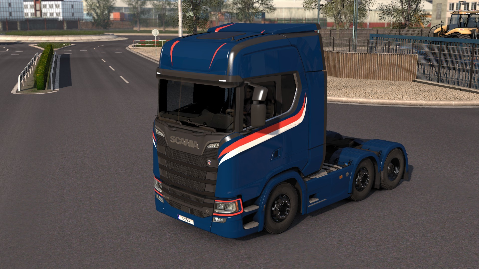 Scania S High Roof Simple Skin